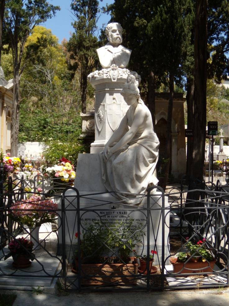 Monumento per Michele Amari