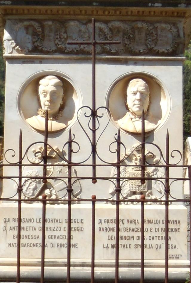 Monumento Geracello - dettaglio